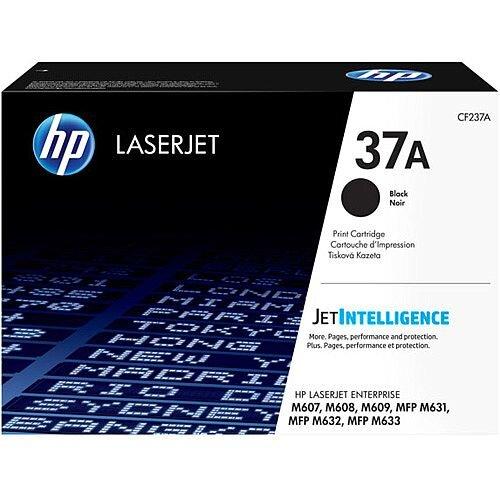 HP 37A Black Original LaserJet Toner Cartidge Yield: 11,000 Pages CF237A