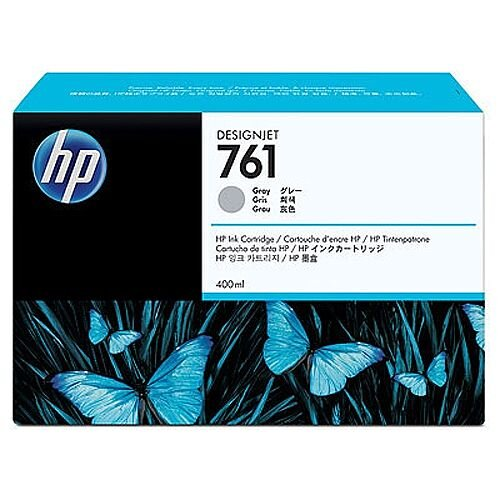 Hewlett Packard No761 Design Jet Inkjet Cartridge 400ml Grey CM995A