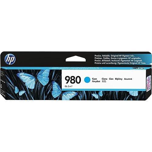 HP 980 Ink Cartridge Cyan D8J07A