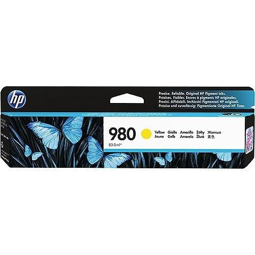 HP 980 Ink Cartridge Yellow D8J09A