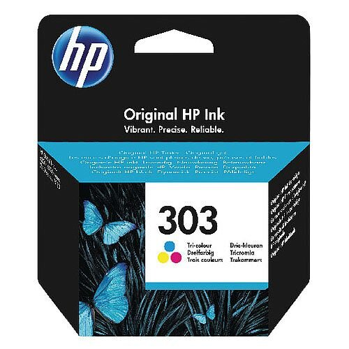 HP Original 303 (T6N01AE) Tri Colour Ink Cartridge