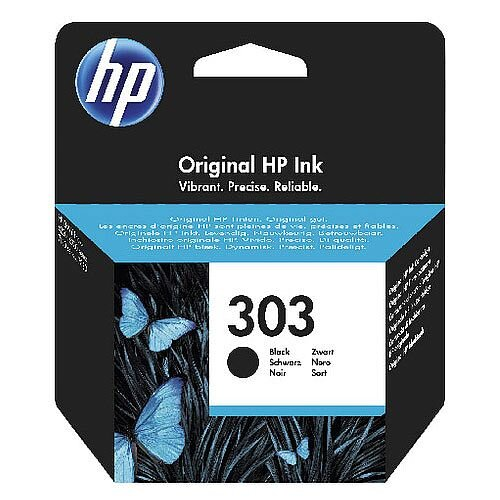 HP Original 303 Black Ink Cartridge T6N02AE