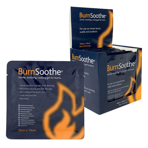 Reliance Medical BurnSoothe Burn Dressing 100 x 100mm Pack of 10 394
