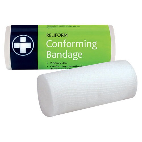 Reliance Medical Reliform Conforming Bandage 75mmx4m Pack of 10 432