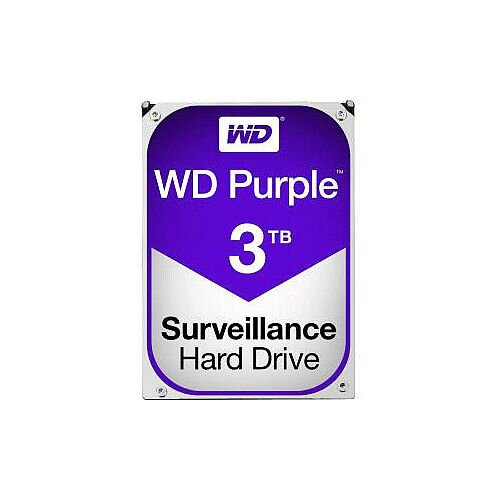 WD Purple WD30PURZ 3 TB 3.5in Internal Hard Drive SATA 64 MB Buffer