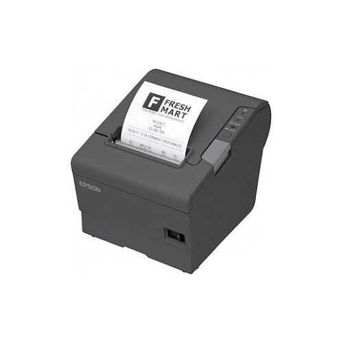 Epson TM-T88V 033A1 Direct Thermal Printer Monochrome Desktop Receipt Print 300 mm/s Mono 180 x 180 dpi 4 KB USB Serial 79.50mm Label Width