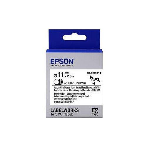 Epson Label Tape 6mm Width x 9m Length White C53S656902