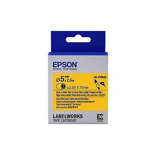 Epson LabelWorks LK-4YBA5 Label Tape 2500mm Length Thermal Transfer White C53S654906