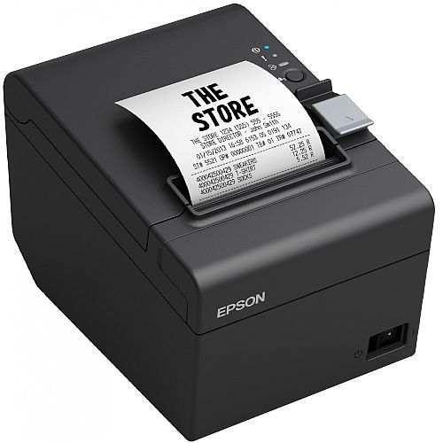 Epson TM-T20III Direct Thermal Printer - Res. 203x203dpi - Maximum Roll Diameter: 83 mm - USB/Ethernet