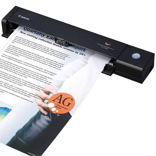 Canon imageFORMULA P-208II Sheetfed Scanner 600 dpi Optical 24-bit Color 8-bit Grayscale 8 8 USB