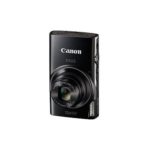 Canon IXUS 285 HS 20.2 Megapixel Compact Camera Black 7.5 cm 3in LCD 16:9 12x Optical Zoom 4x Optical IS TTL 5184 x 3888 Image 1920 x 1080 Video HDMI PictBridge HD Movie Mode Wireless LAN