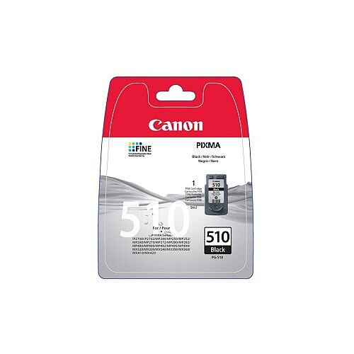 Canon PG-510 Original Ink Cartridge Black Inkjet 219 Pages 1 Pack