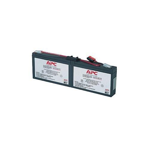 APC RBC18 Battery Unit 6 V DC Lead Acid Maintenance-free Hot Swappable 3 Year Minimum Battery Life 5 Year Maximum Battery Life