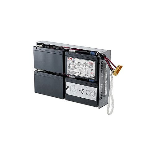 APC RBC24 Battery Unit 24 V DC Sealed Lead Acid (SLA) Spill-proof/Maintenance-free Hot Swappable 3 Year Minimum Battery Life 5 Year Maximum Battery Life