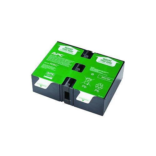 APC APCRBC124 Battery Unit Sealed Lead Acid (SLA) Spill-proof/Maintenance-free Hot Swappable 3 Year Minimum Battery Life 5 Year Maximum Battery Life