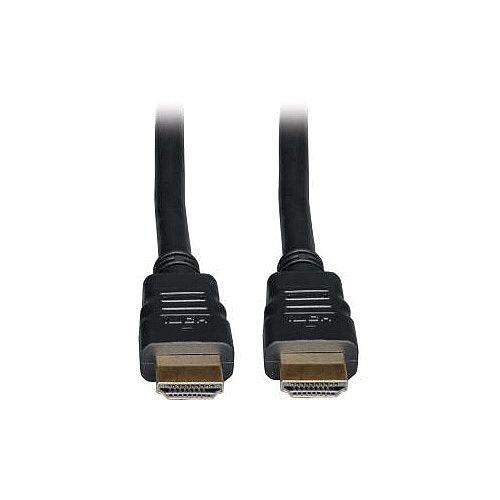 Tripp Lite P569-025 HDMI A/V Cable 7.62 m 1 x HDMI Male Digital Audio/Video 1 x HDMI Male Digital Audio/Video 2.25 GB/s Black