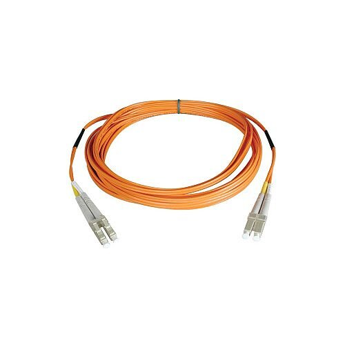 Tripp Lite Fibre Optic Network Cable 1 m 2 x LC Male 2 x LC Male Patch Cable