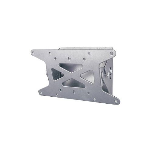"""Manhattan 423717 Wall Mount for Flat Panel Display 33 cm 13"""" to 78.7 cm 31"""" Screen Support 22.68 kg Load Capacity Steel Silver"""