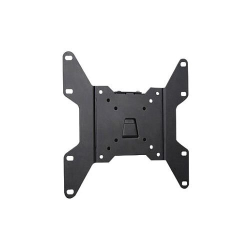 """Manhattan Wall Mount for Flat Panel Display 43.2 cm 17"""" to 94 cm 37"""" Screen Support 79.83 kg Load Capacity Steel Black 423731"""