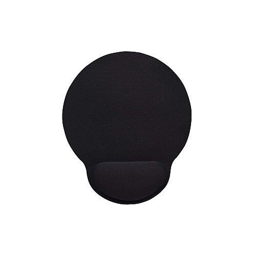 Manhattan 434362 Mouse Pad Black Foam Gel