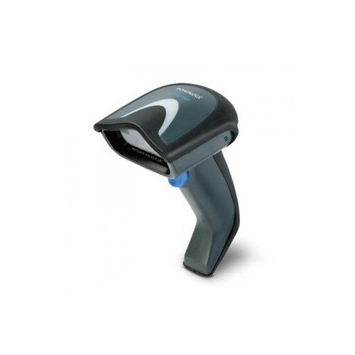 Datalogic Gryphon GD4132 Handheld Barcode Scanner - Cable Connectivity - USB, Serial RS232 - Black, Grey - 325 scan/s - 1D - CCD - Black