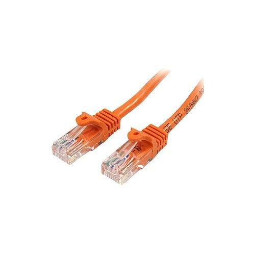 StarTech 3 m Orange Cat5e Snagless RJ45 UTP Patch Cable 3m