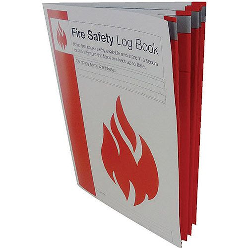 Fire Safety Log Book (Pack of 1) IVGSFLB