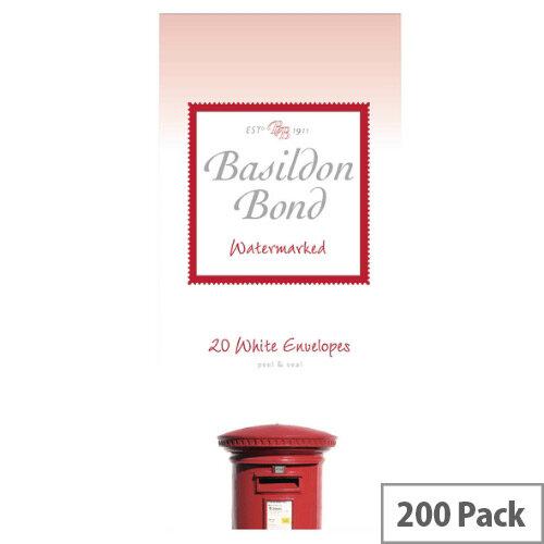 Basildon Bond White Post-Quarto Envelopes (Pack 200)