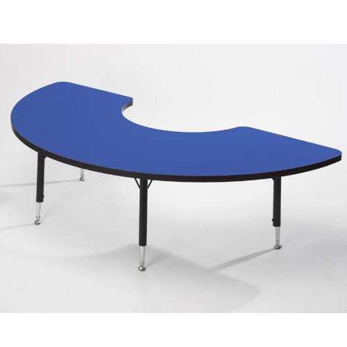Height adaptable Arc Table - Blue 43cm -63.5cm