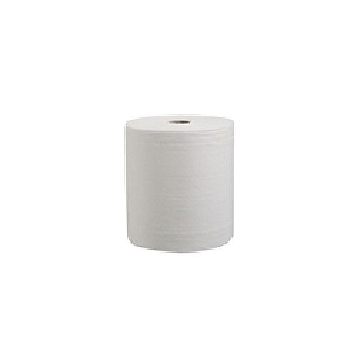 Kleenex Ultra Hand Towel Roll 130m 2-Ply White Pack of 6 6765