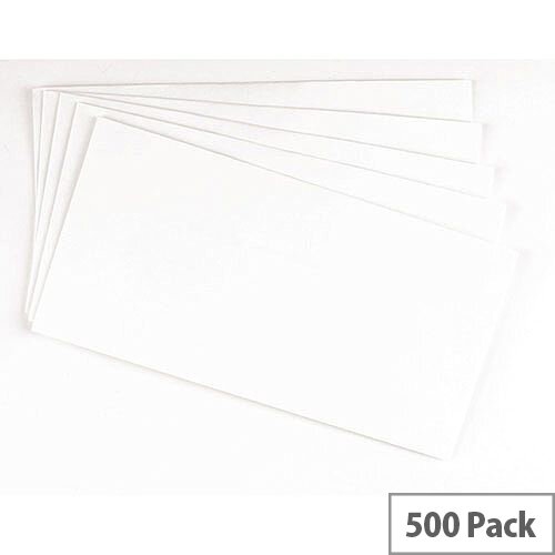 Q-Connect Envelope DL Peel &Seal Laid White 100gsm Pack of 500 KF01439