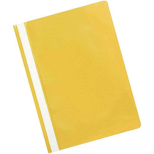 Project Folder A4 Yellow Pack of 25 Q-Connect KF01457