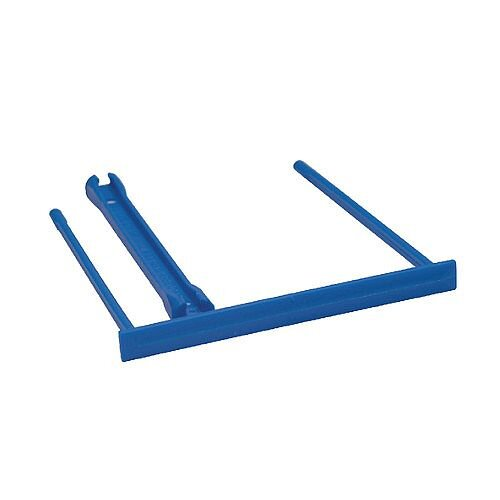 Q-Connect E Clip Blue Pack of 100 KF02282