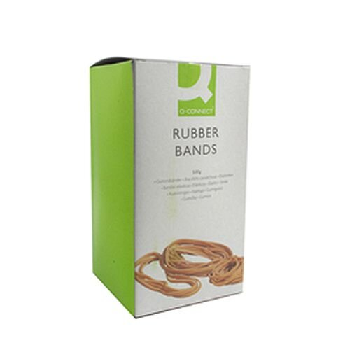 Q-Connect Rubber Bands 500g Number 10