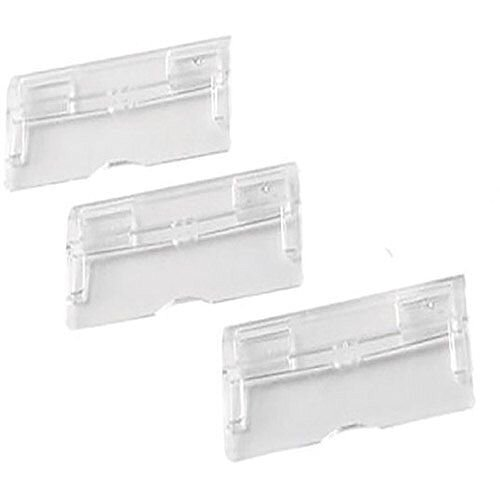 Q-Connect Suspension File Tabs Clear Pack of 50