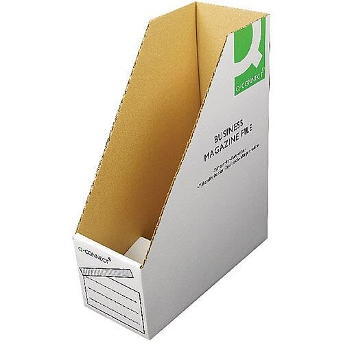 Q-Connect Business Magazine File 100x230x300mm 10 Pack