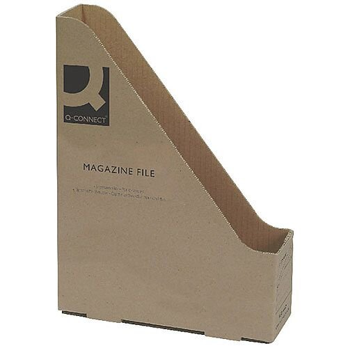 Q-Connect Magazine File 246x73x329mm 20 Pack