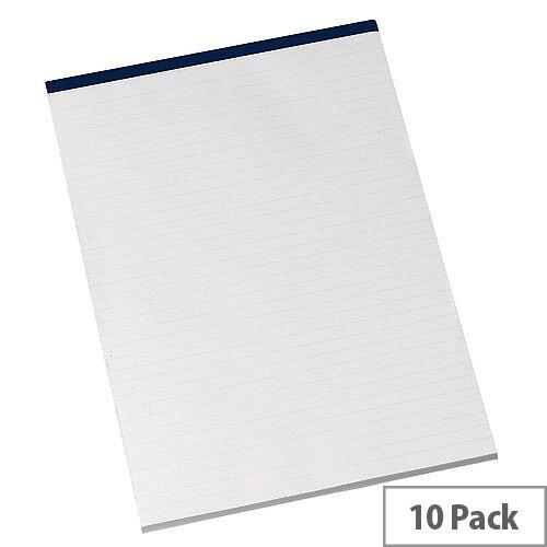 Q-Connect Memo Pad A4 80 Leaf Ruled Narrow Feint Pack of 10