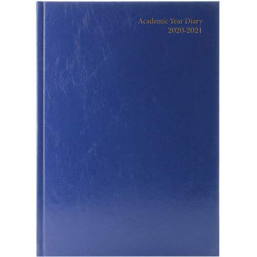 Academic Diary Week to View A5 Blue 2020-21 KF3A5ABU21