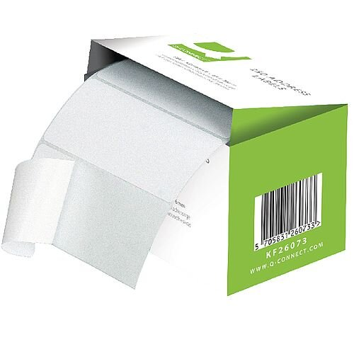 Q-Connect Adhesive Address Label Roll 102x49mm (180 Labels)