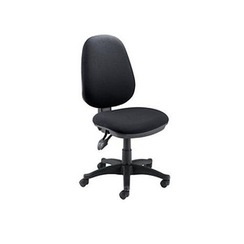 Jemini Plus High Back Task Operator Office Chair Charcoal Ch1800