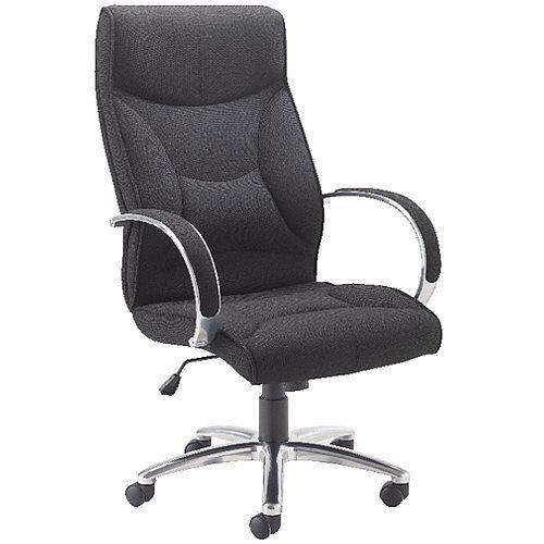 Avior High Back Executive Office Chair Black Kf74187