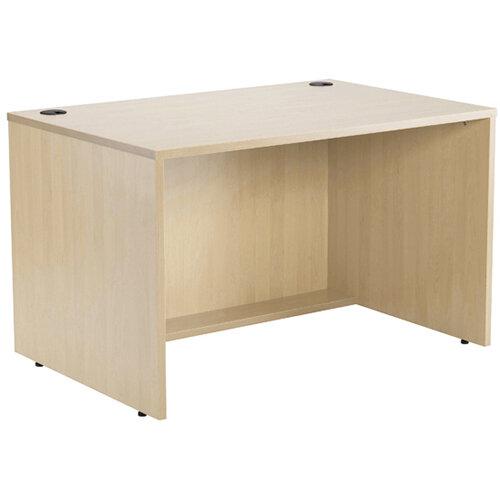 Jemini Modular Reception Desk Straight Base Unit Maple W1200xD800xH740mm 1200MASAMA