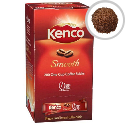 Kenco Smooth Instant Coffee Sticks 1.8g Pack of 200 65687
