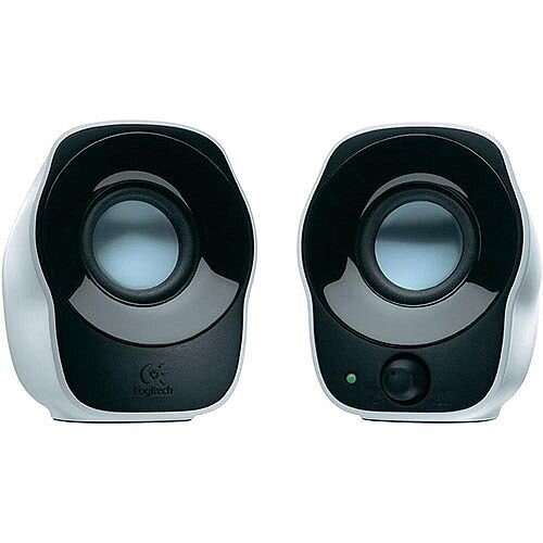 Logitech Z120 Stereo Speakers Silver/Black 980-000513