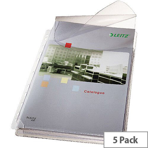 Leitz Expanding Pocket with Flap A4 170 Micron 47573003