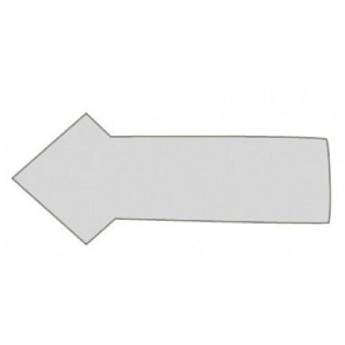 Franken Magnetic Grey Arrow Symbols Pack of 30 M860 12