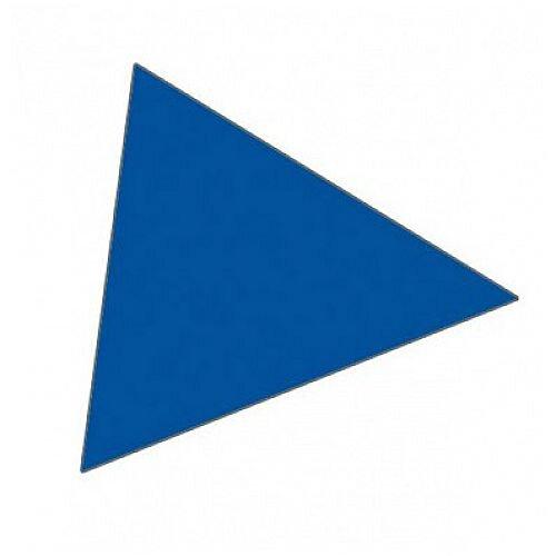 Franken Magnetic Blue Triangle Symbols Pack of 180 M864 03