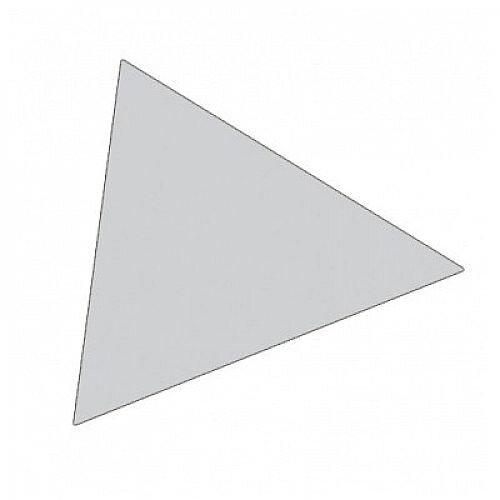 Franken Magnetic Grey Triangle Symbols Pack of 49 M865 12