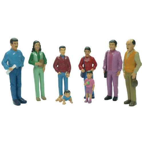 Family Block Figures Small World - Latin America Ref:MD27398